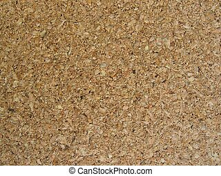 Cork board - Detail of a cork board
