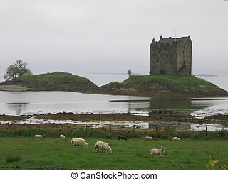 The Castle Of Aaaa - Somewhere in Scotland, near Oban. This...