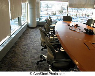 Conference room - Business conference or meeting room on a...