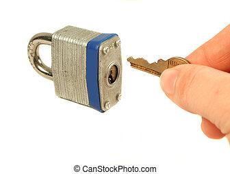 lock - unlocking lock