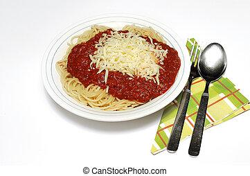 Spaghetti bolognaise - Pasta, spaghetti bolognaise with...