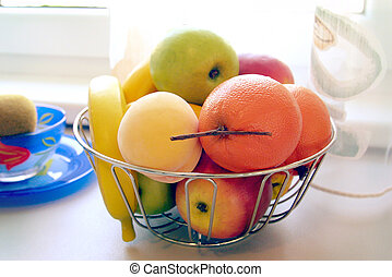 nice food - fruit bowl