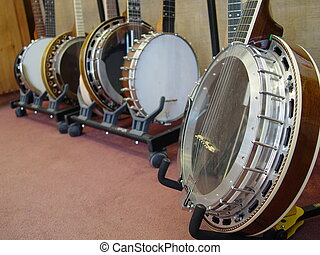 cuerda,  Banjos