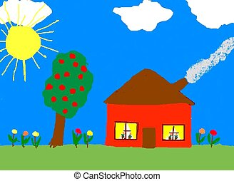 cool things to paint child painting illustrations and clipart 31 375 child 31375