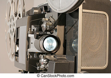 Film Projector Close