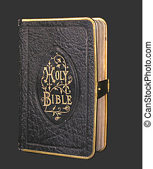 old black bible - close upold black bible