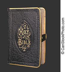 antigas, pretas, bíblia