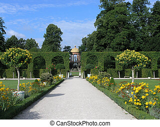 Apollo Park - View of a formal electoral park and gardens at...