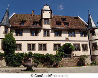 Hunting Lodge - The hunting lodge at the compounds of the...