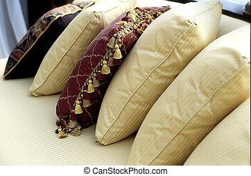 Pillows - pillows on couch
