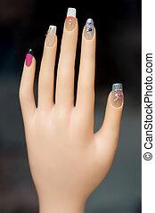 Nail polish - Beauty salon