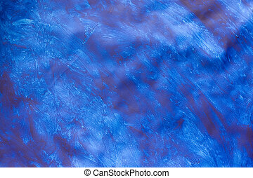 Paste Paper: Something Like the Sea - Photo of a part of an...