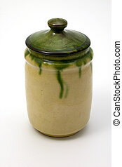Ceramic canister - Isolated ceramic canister