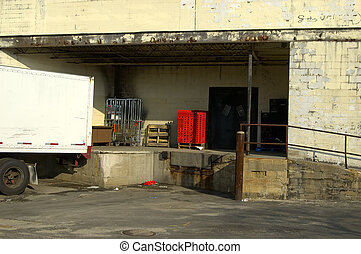 Loading Dock - Photo of a Loading Dock