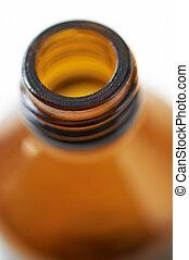 medicine bottle in close up - medicine bottle