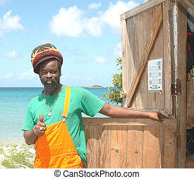 rasta craftsman 138 - rasta thumbs up