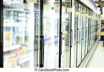 tienda de comestibles, Tienda