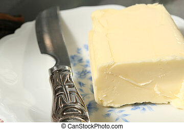 butter and knife