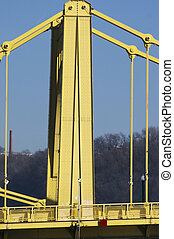 Pittsburgh Bridge - Seventh Street Bridge in Pittsburgh