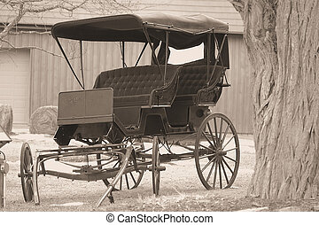 wagon - antique wagon