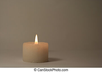 Candle - A burning candle