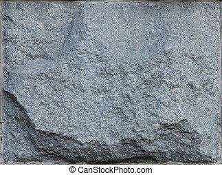 Wall 6 - A grey granit wall stone brick texture background