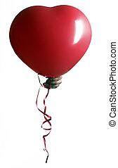 rojo, globo