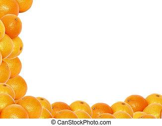 high resolution tangerine frame