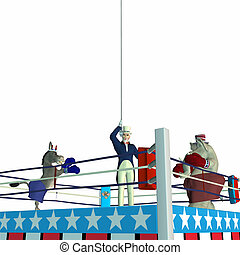 Political Boxing - Political Party Sporting Event Boxing