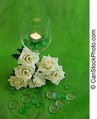 Wedding Day - Wedding reception table decoration