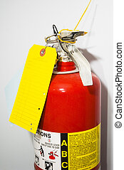 Fire Extinguisher - Top of fire extinguisher