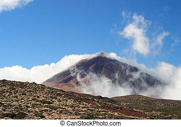 El Teide - vulcan in national Park El Teide