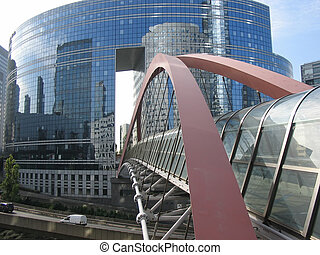 Abstract bridge, La defense Paris