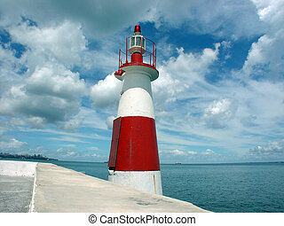 Little Lighthouse - A lighthouse in the Ribeira, Salvador de...