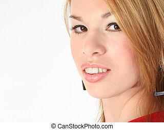 Woman Beauty Close