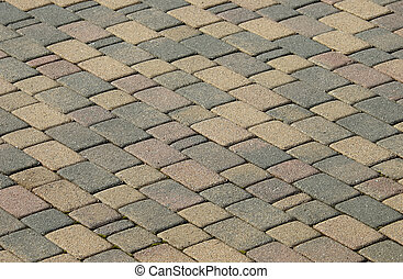 Brick Surface - Brick Patio Blocks