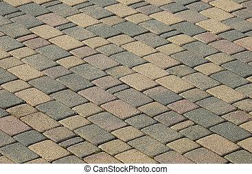 Brick Surface - Brick Patio Blocks