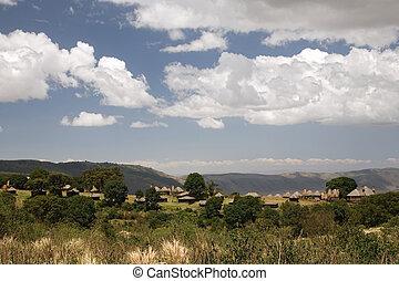 africa landscape 018 ngorongoro camp area