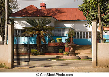 house 002 africa. arusha