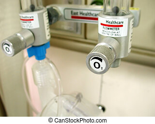 Medical Equipment - Oxygen supply. Intentional selective...