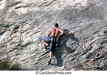 Climber - Man climbing