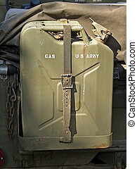 US Army Gas tank - Gas tank from an old US army veichle