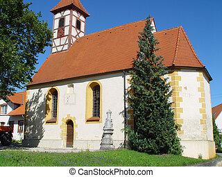 Swabian Chapel - A medieval chapel in the Swabian part of...