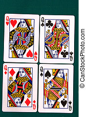 cards all 11 #queen.