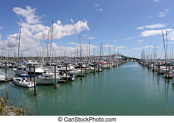 boats boats boats 1 - A large number of yachts at a yacht...