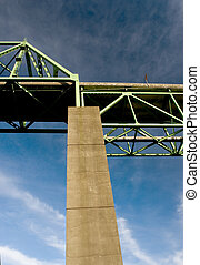 Detail, Astoria-Megler Bridge - Photo of the Astoria-Megler...