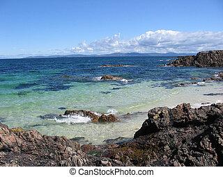 Coast of Iona, Scotland