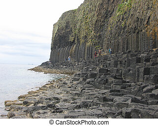 Basalt columns, Isle of Staffa