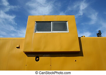 Caboose - View of a train caboose