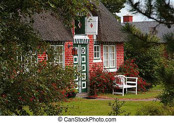 country house with thatched roof_1 - lovely country house...
